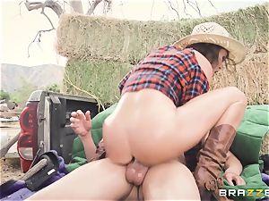 Deep ass fucking for the chisel railing tramp Krissy Lynn
