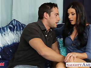 red-hot mom India Summer gets gash torn up and pounded