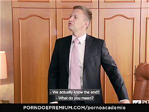 porn ACADEMIE Lana Rhoades likes boinking French prick