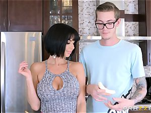 insane mommy Veronica Avluv nailing her sons insatiable pal