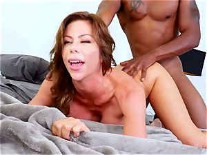 buxomy woman rides thick cock