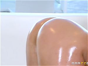 naked oily humping with magnificent babe Abella Danger