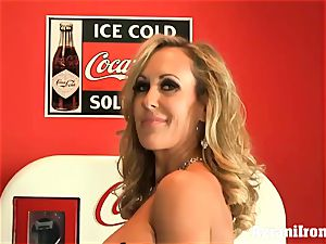 torn up Brandi love disrobes and jerks
