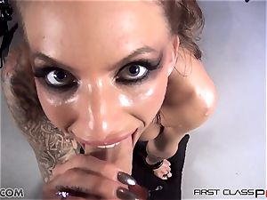 very first Class pov - Juelz take a enormous bone in her mouth