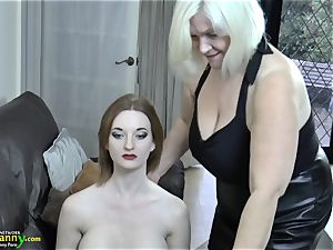 OldNanny mature Lacey starlet bought fresh intercourse female