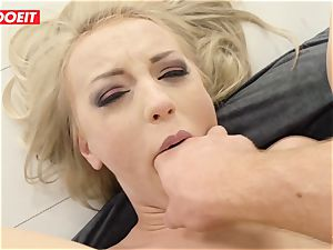 LETSDOEIT - steaming ash-blonde backside plowed gonzo by Stranger