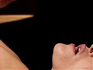 insane massagist makes Krissy Lynn jiggle after sensuous enjoy making