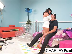 Charley haunt has some joy in this insatiable 3some