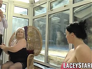 LACEYSTARR - Pascal fuckin' Lacey Starr and her mate
