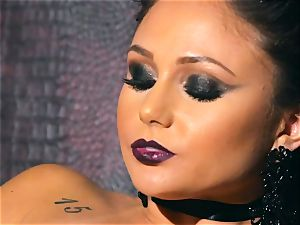 slender small Ariana Marie splendid rubber solo getting off