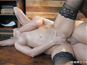 testicle tonic enjoying blonde Athena Palomino