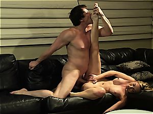 Kayden Kross blows and ravages