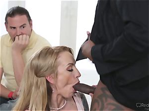 Zoey Portland gets a well deserved portion of manhood