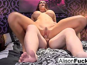 buxomy Alison gets boned rigid