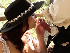 Chanel Preston wild west labia service