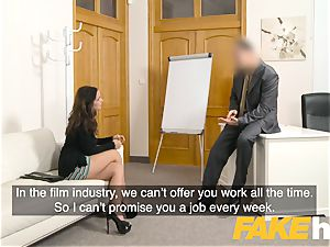 faux Agent cum luving inked Spanish babe