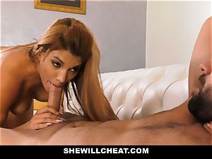 SheWillCheat - super hot cuckold wifey vengeance porking