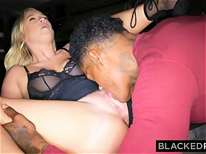 BLACKEDRAW beau with hotwife dream shares his ash-blonde girlfriend
