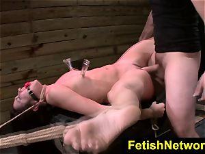 FetishNetwork Stella May restrain bondage climax