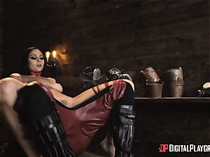 horny superhero intercourse with Ariana Marie and Xander Corvus