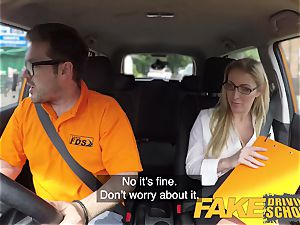 faux Driving college Georgie Lyall Off Duty intercourse