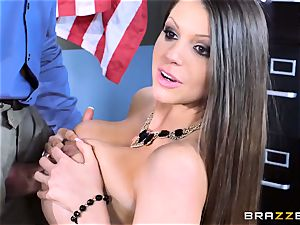 Brooklyn chase bangs her schoolgirls parents