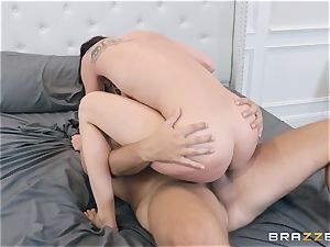 Aidra Fox pounded rock hard in her pussy