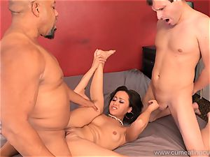 Mia Austin Has husband witness as She Gets nailed