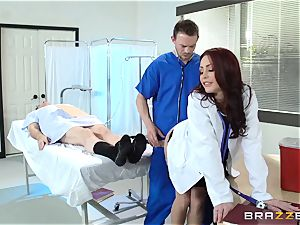 magnificent physician Monique Alexander screws her trainee