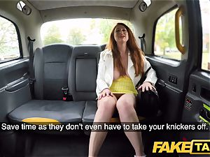 fake taxi crazy ginger-haired ultra-cutie in filthy poke