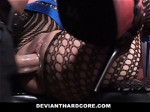 DeviantHardcore insane japanese Gets taut cooter whipping