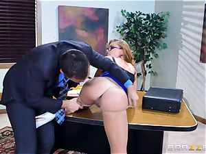 Britney Amber getting porked in her bum and honeypot