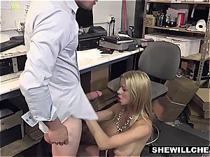 SheWillCheat - big-titted milf boss tears up fresh worker