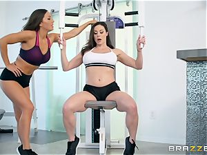 super-fucking-hot 3 way with Kendra eagerness and Abigail Mac