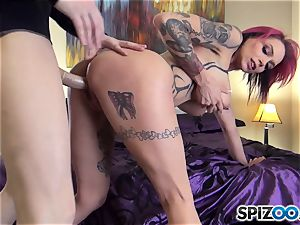 ultra-kinky Anna Bell Peaks blows man rod pov fashion
