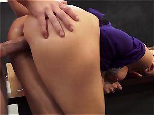 spectacular professor Chanel Preston takes advantage of her college girl