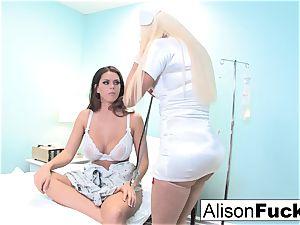 bizarre Nurse Nikita attempts to heal Alison