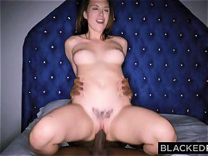 BLACKEDRAW Smoking Swinger wife attempts dark-hued sausage