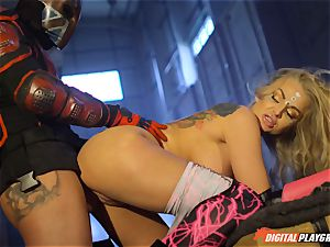 Kayla Green is truly for a really explosive finishing
