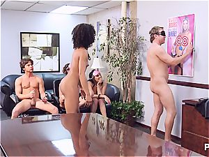 Getting super-naughty in the office part 4
