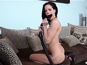 tidy perv Aliz falls in enjoy with her hoover