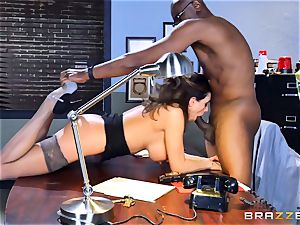 wild office joy with Ariella Ferrera