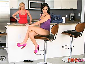 mummy plays around with ultra-kinky nubile with oblivious stepmom - Dylan Daniels, Lolo Punzel and Parker Swayze
