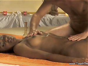An Advance finger-tickling and bod massage