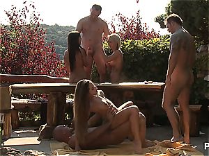 Outdoor bang-out fun and pornography games scene four
