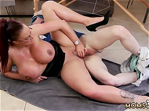 mummy milfcompanion kitchen hardcore humungous bap Step-Mom Gets a rubdown