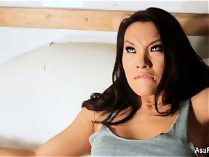 Asa Akira pounds Dani Daniels
