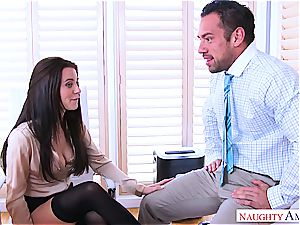 Office masturbation session ends with sudden shagging