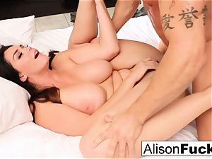 red-hot motel apartment pulverizing with Alison and Marcus