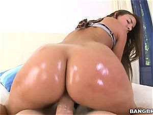 steaming caboose dark haired Amirah Adara